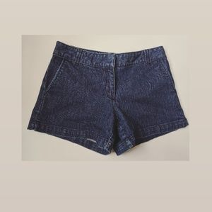 New York & Company Denim Clasp Shorts